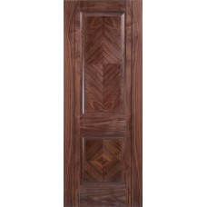 Walnut Madrid 2 Panel Pre-Finished Door