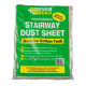Everbuild Stairway Cotton Dust Sheet 24ft x 3ft