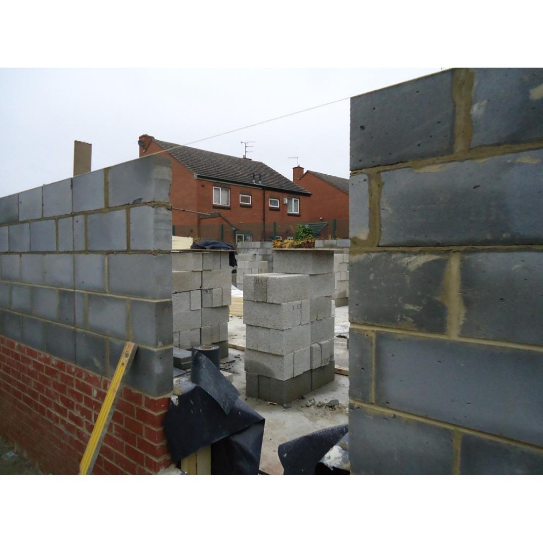 Lightweight Concrete Block 215x440x100mm 7n