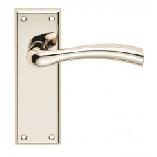 Serozzetta Cinquanta Lever on Latch Backplate