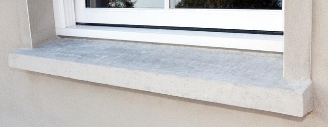 Cills for Window design cement