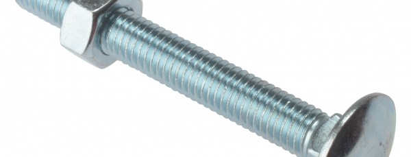 Sitemate Cup Square Hex Bolts /& Nuts Box of 25 M10 200mm